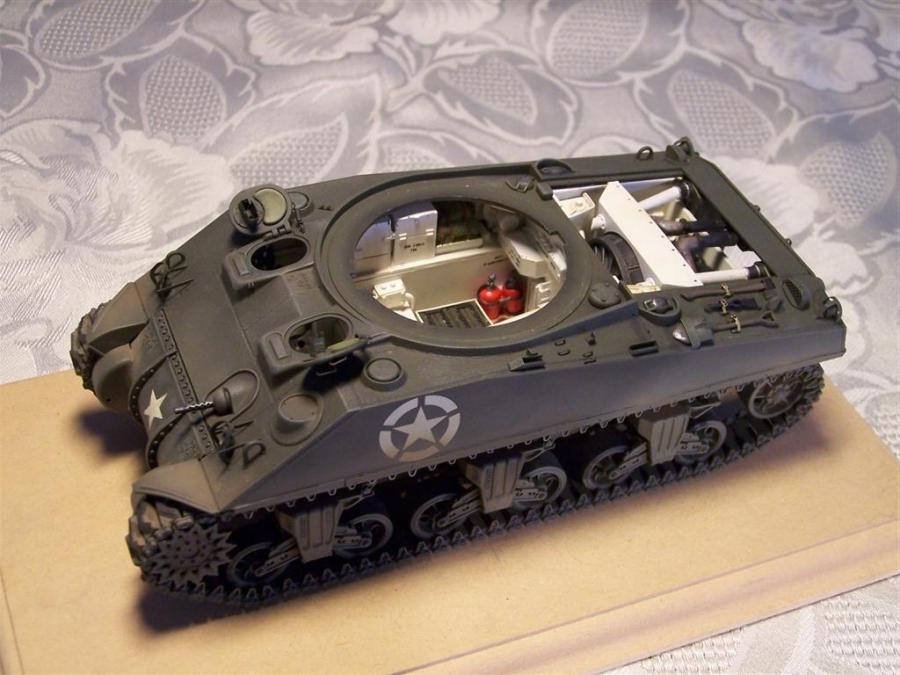 Sherman Tank Interior Photos
