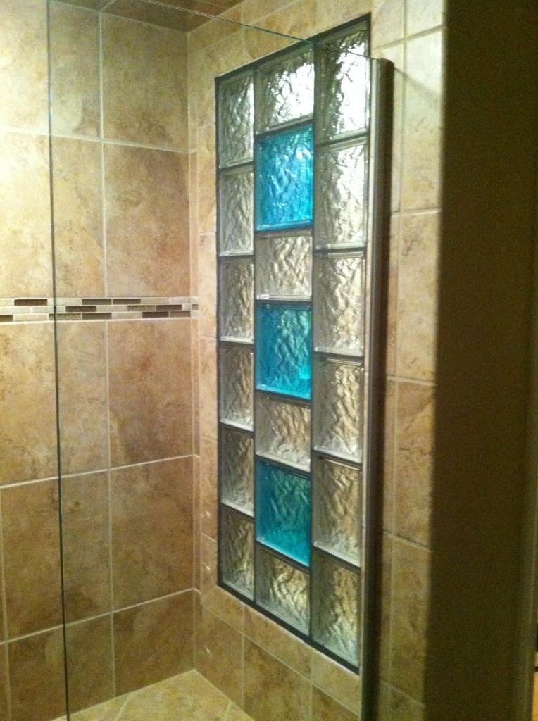Glass Block Shower Photos