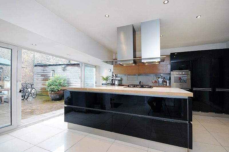 Open plan kitchen design photos for Kitchen ideas rightmove