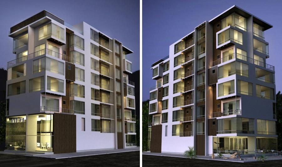 apartment building by kasrawy