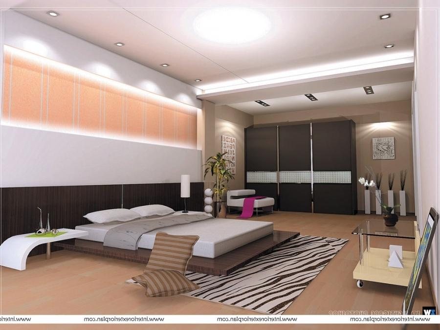Contemporary Bedroom Decorating Photos