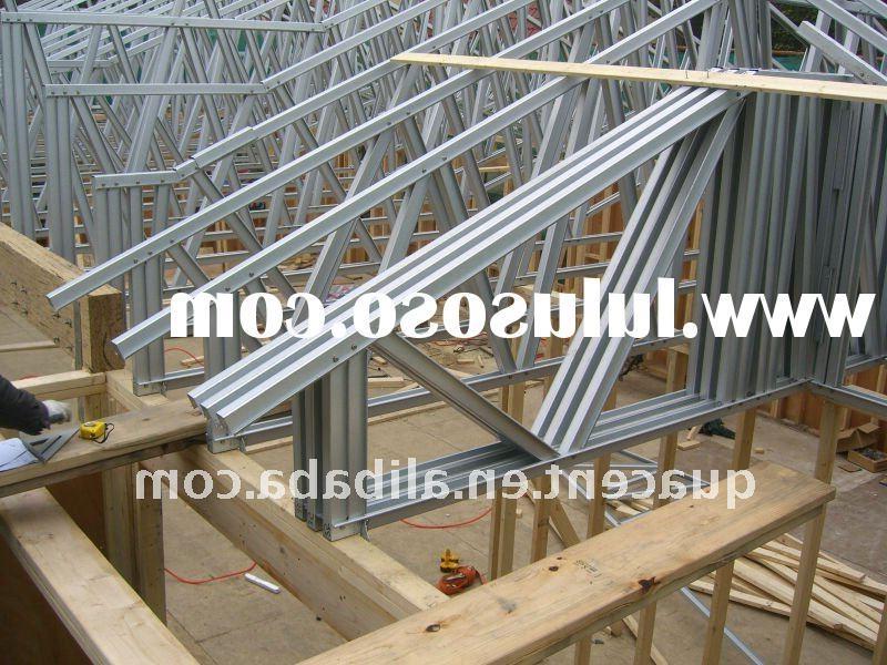 Roof truss construction photos