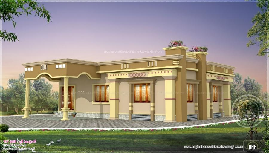 House plans with photos in india tamilnadu for South indian model house plan