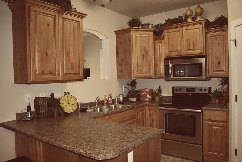Photos Of Glazed Cabinets