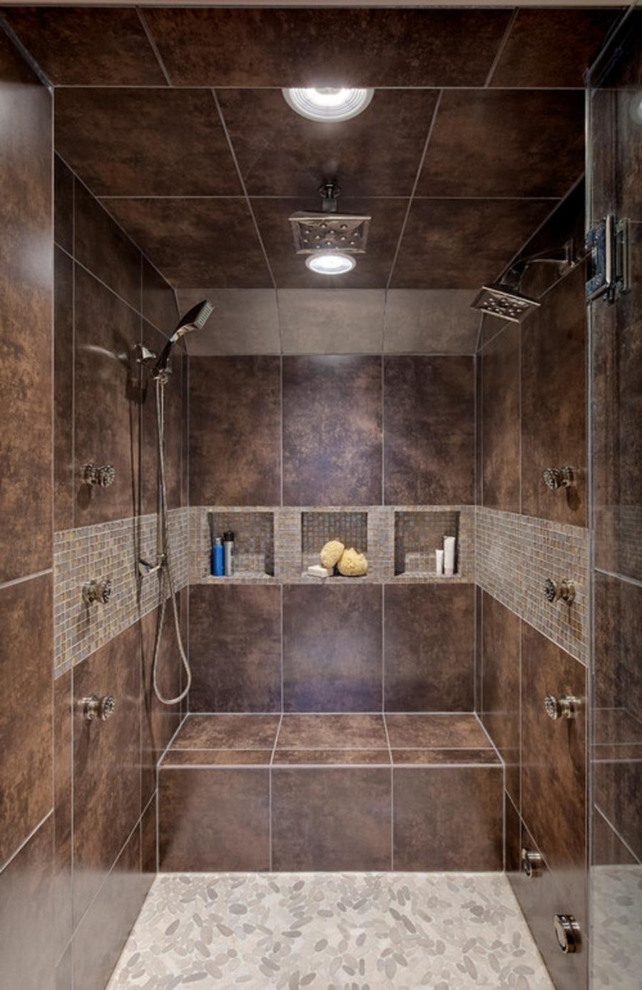 Small Shower Remodel With Seat