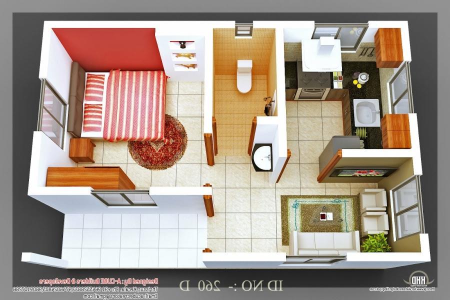 2 Bhk Flat Interior Design Photos