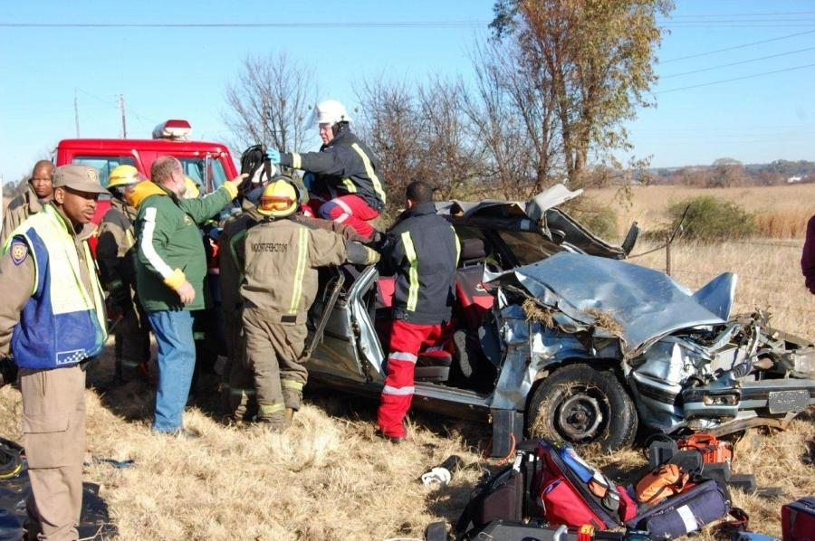 A serious collision occurred this afternoon when a single vehicle...