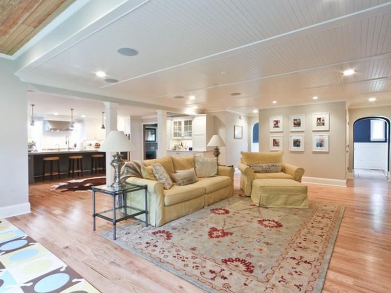 finish basement ceiling ideas - Basement Ceiling Ideas to Choose