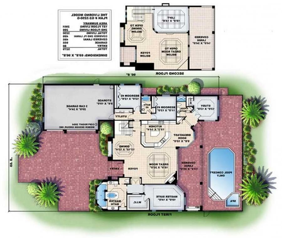 Mediterranean House Plan Photo