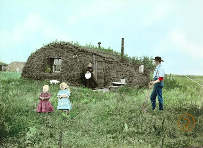 Photos pictures of sod houses for Kansas homestead act