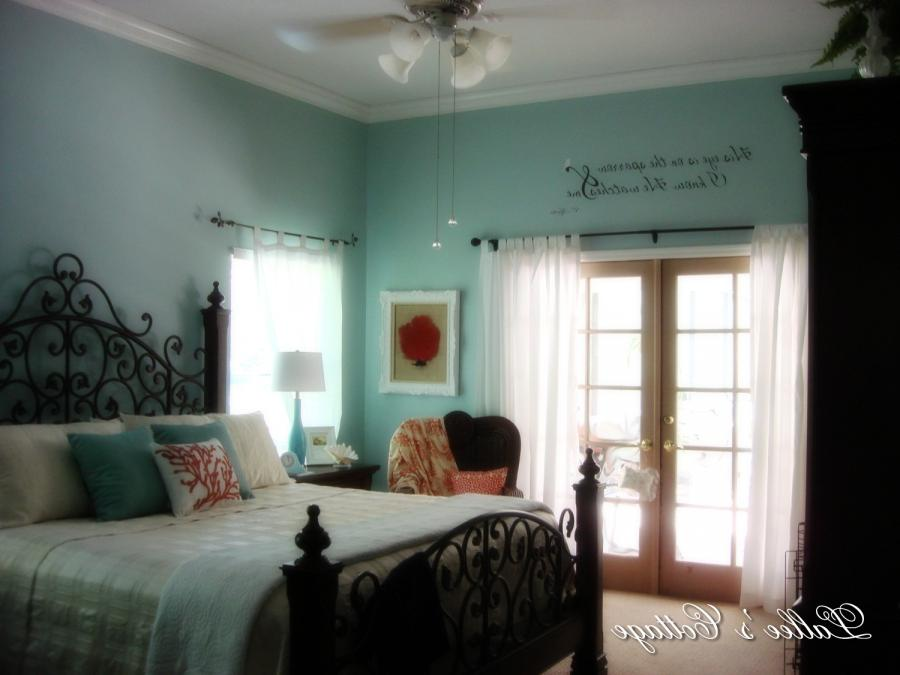 Master Bedroom Update~Wall Saying