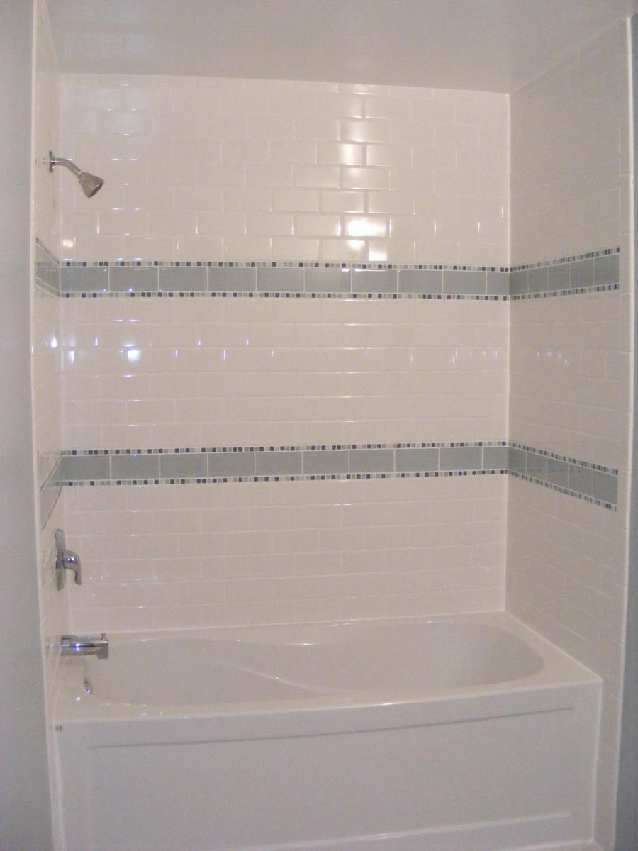 White Tiled Bathroom Photos