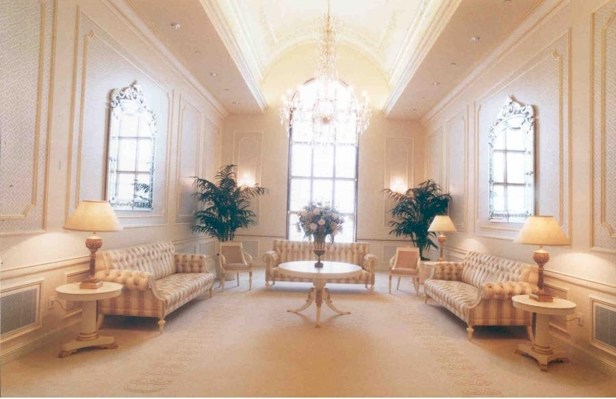The Celestial Room in the Boston Temple. Photo from...