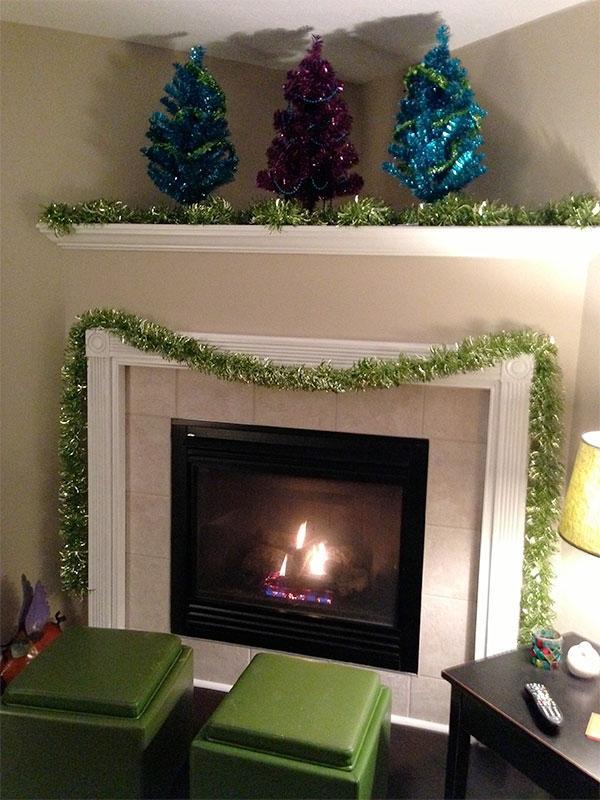 Decorating Corner Fireplace Photos