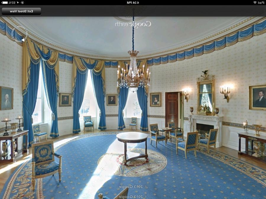 Can you take photos on white house tour for 360 degree house tour