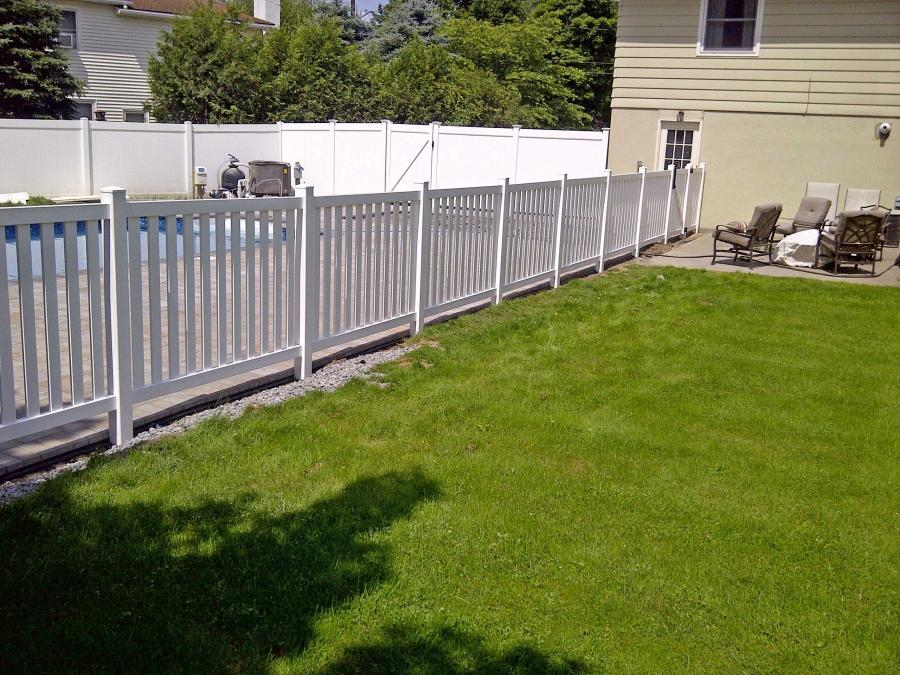 Inground pool fence photos for In ground pool fence ideas