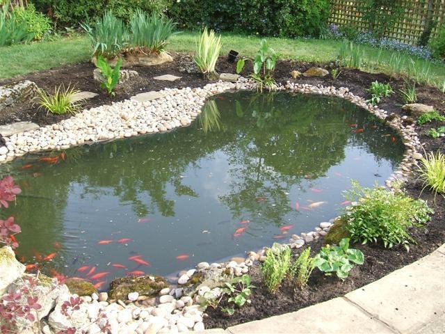 Gartenteich Ideen Bilder