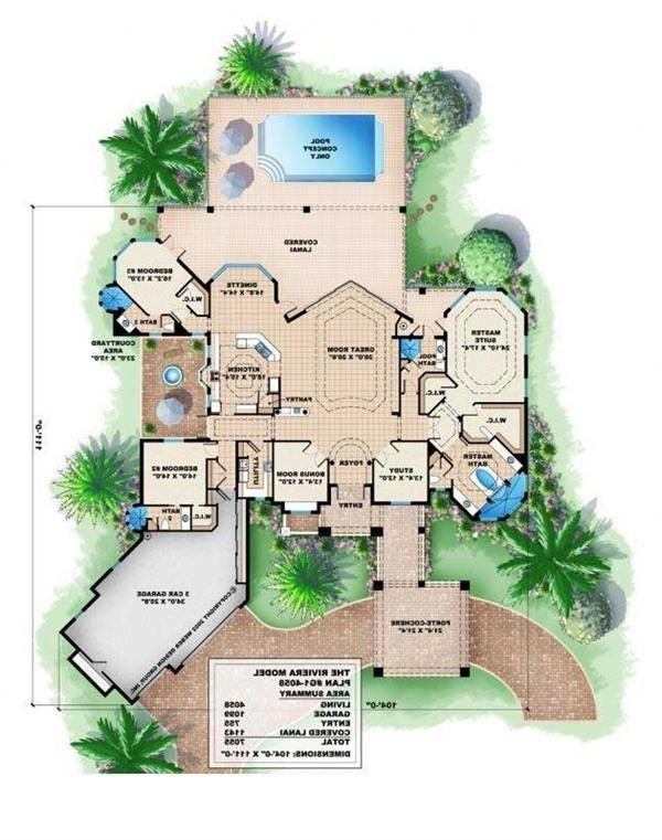 Tuscan Style House Plans With Photos