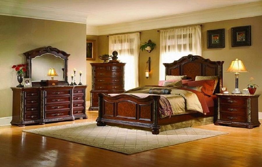 Best master bedroom photos for Vintage master bedroom decorating ideas