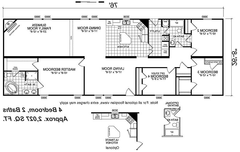 Wide Floor Plans Nc Home Remodeling Wide Mobile Home Floor
