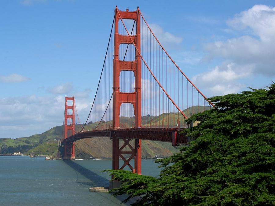 Golden Gate Bridge, USA. Here is a list of best tourist spots in...