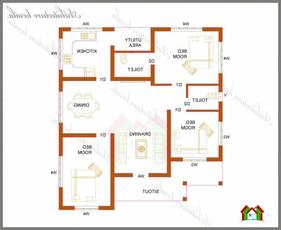 1200 sq ft house plans indian style joy studio design for Indian house plan for 800 sq ft