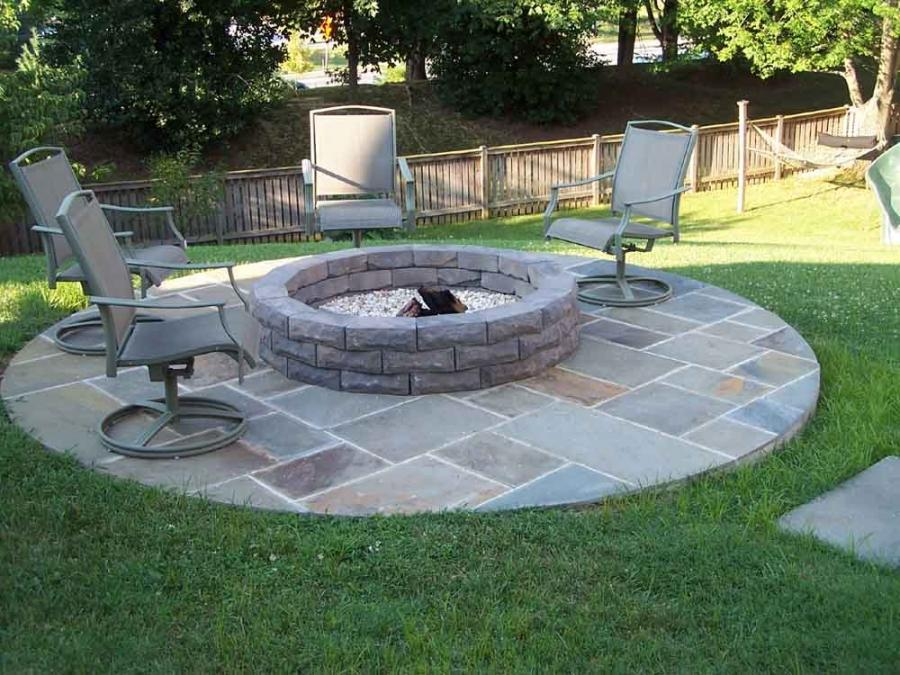 stone outdoor fire pit 10