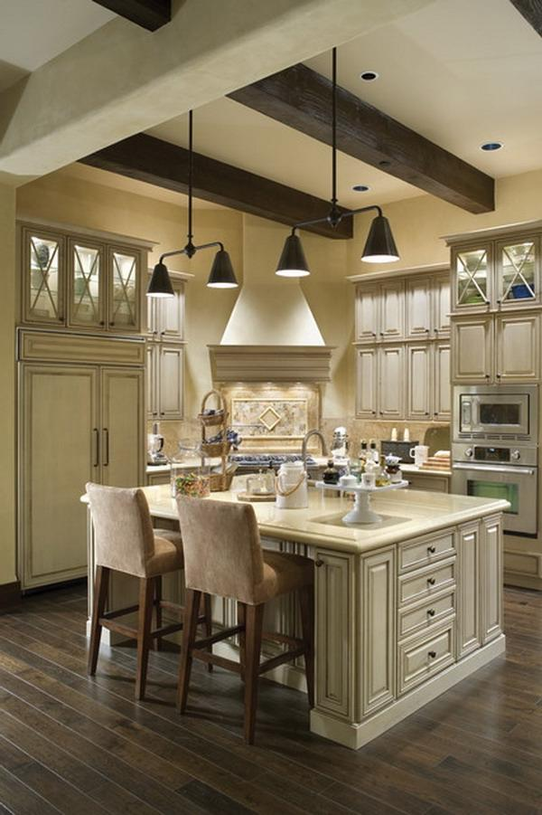 Modern French Country Kitchen Photos