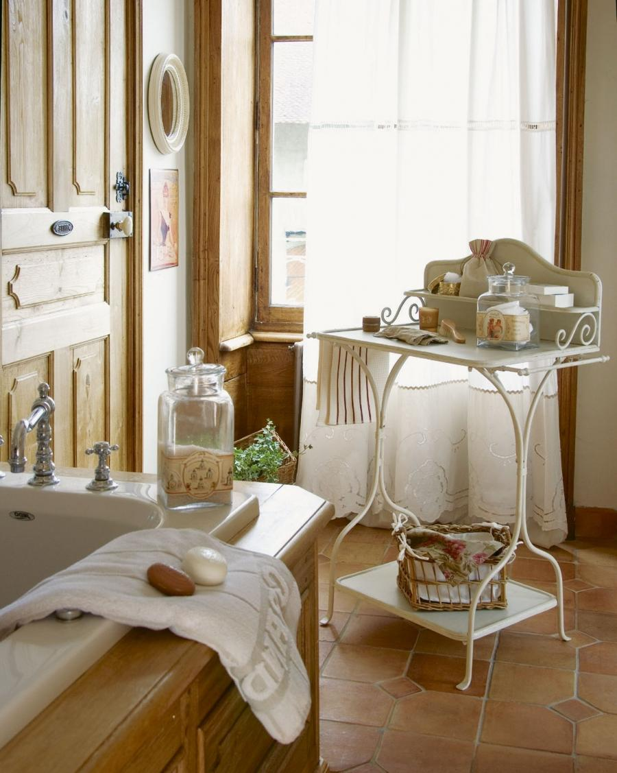 I have always loved French bathrooms and kitchens. To me they are...