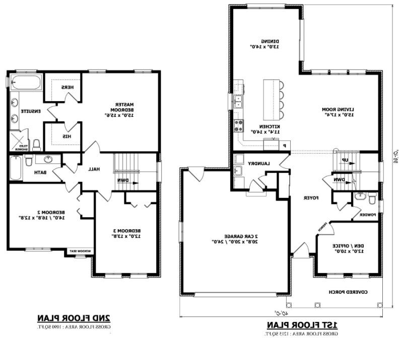 Canada house plans with photos for Custom home plans canada