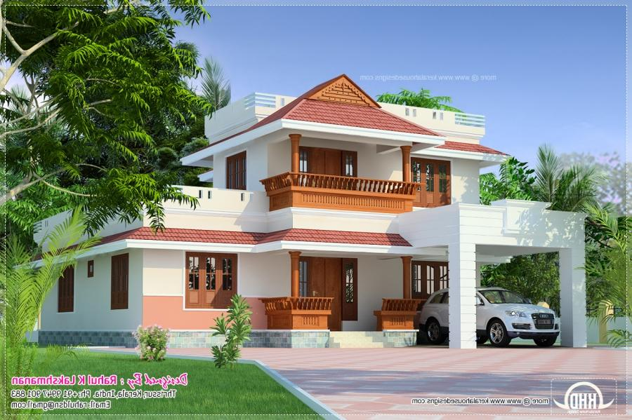 Kerala houses plans with photos for Kerala dream home plans