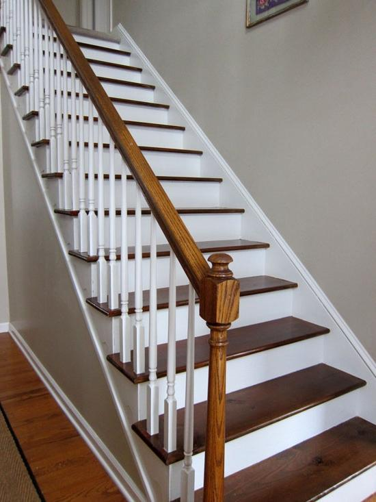 My Foyer Staircase Reveal : Stairway photo gallery ideas