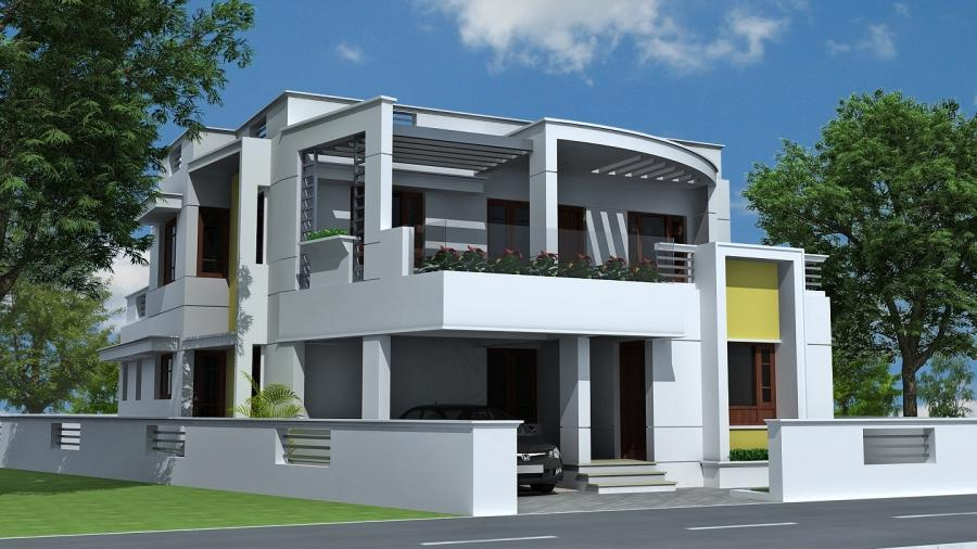 Kerala Real Estate - House for sale in Pappanamcode Trivandrum ...