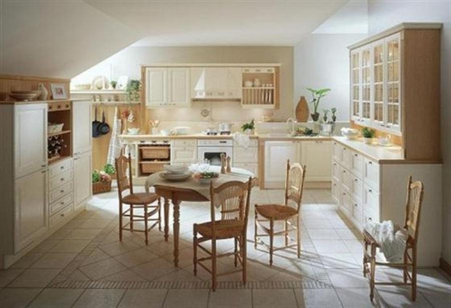 Country french kitchen designs photos for French country white kitchen cabinets