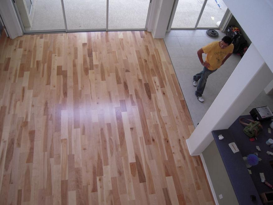 Birch Hardwood Flooring Photos