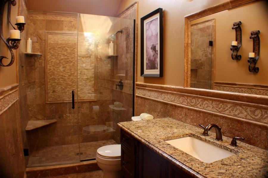 Bathroom photo remodel for Bathroom remodeling naperville