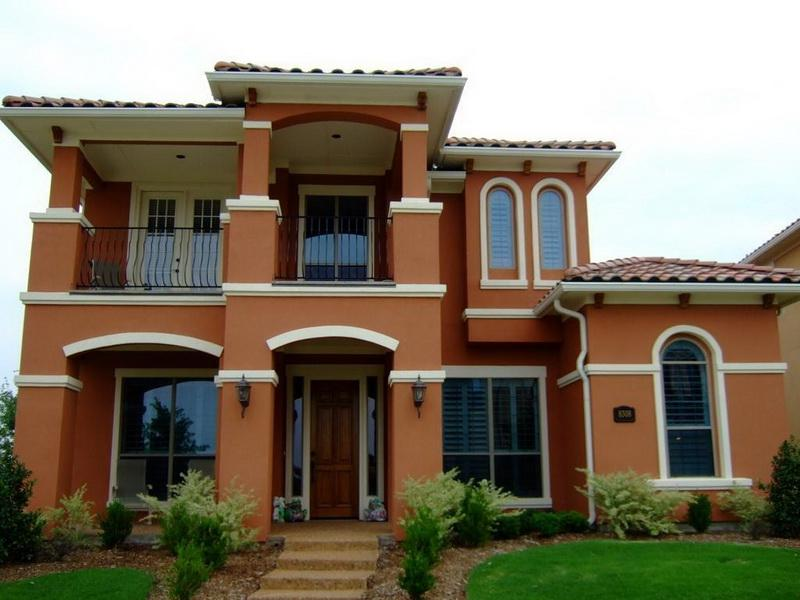 exterior paint colors contemporary house