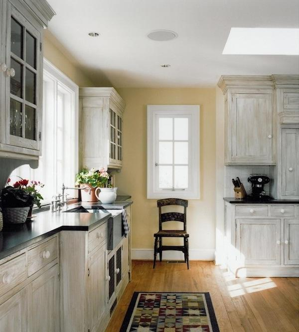 Rustic Oak Kitchen Cabinets: Photos White Washed Cabinets