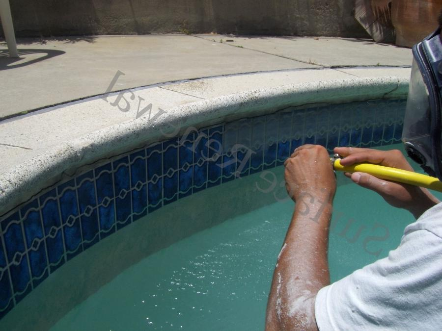Photo tile and equipment for Swimming pool demolition los angeles