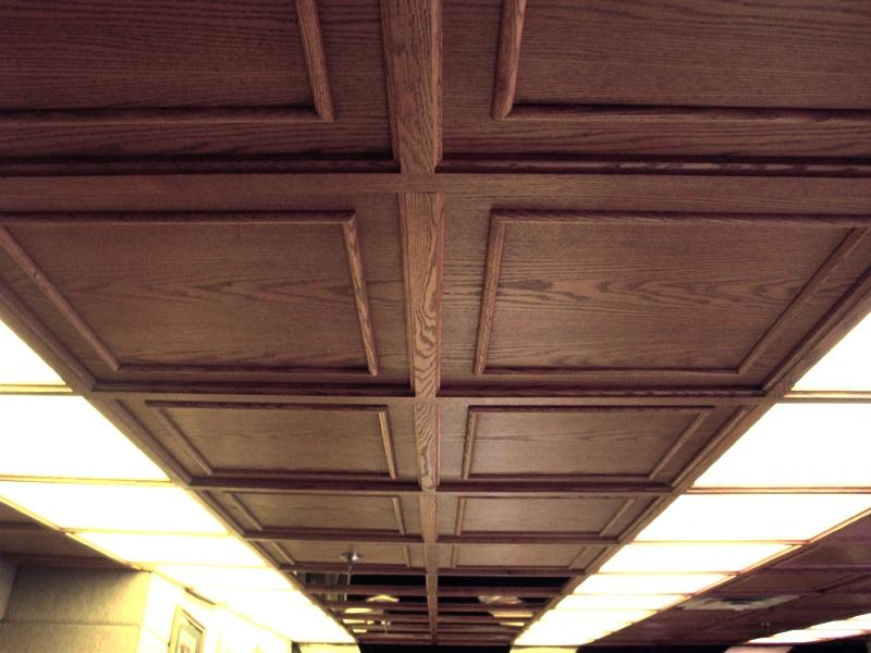 ... Old World Coffered Ceiling System