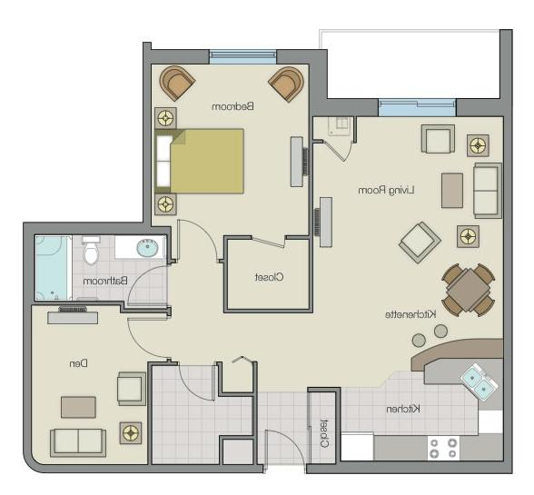 Floor plans of our most popular seniors apartment models: