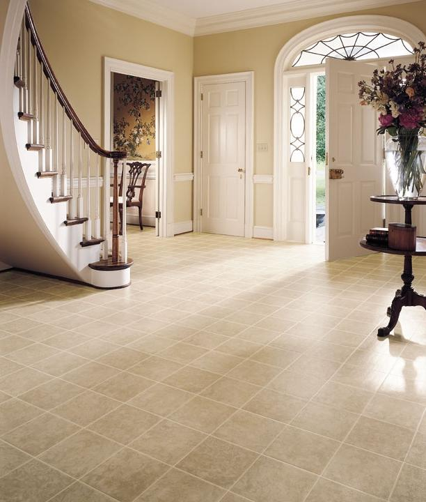Home Design and Interior Design Gallery of Soft Tile Floor With...