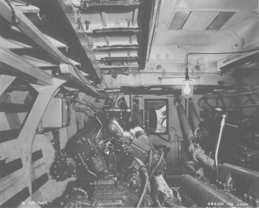 Pt Boat Interior Photos