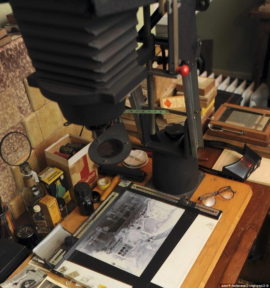 Vintage Photography Darkroom Equipment