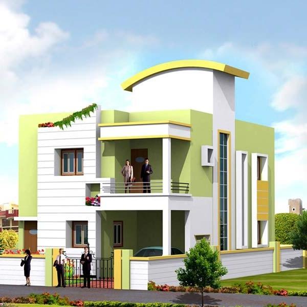 Home Design Ideas Bangalore: Bangalore 30x40 Duplex House Images