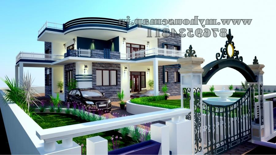 Front elevation of house in india photos samples