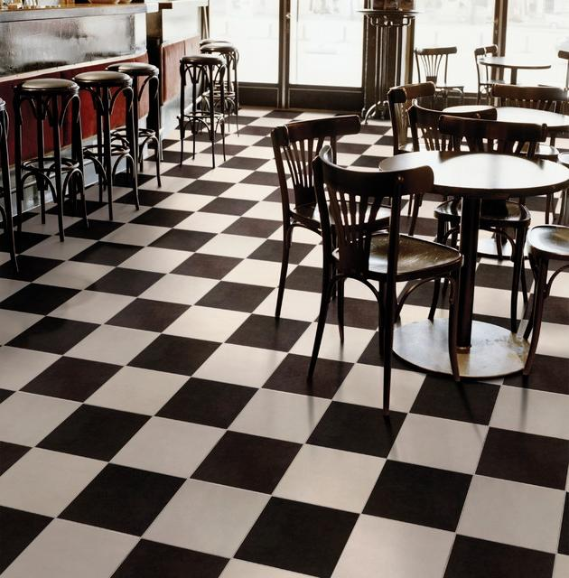 Black And White Tile Floor Photos