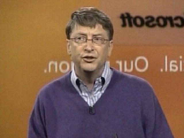 Bill gates police photo