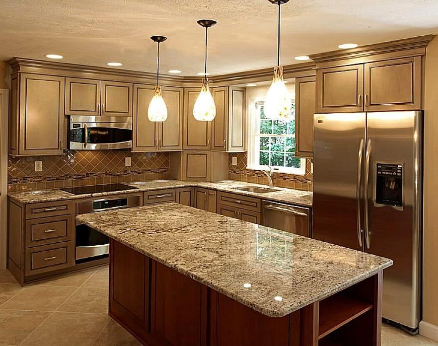 Quartz countertop kitchen photos for Countertop cost per linear foot