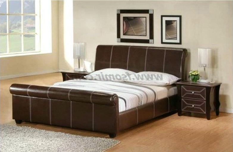 Indian box bed designs photos for Double bed with box design